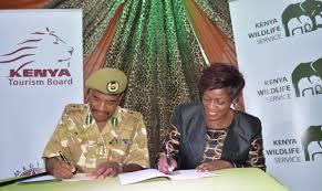 Kenya Wildlife Service, KTB sign MOU