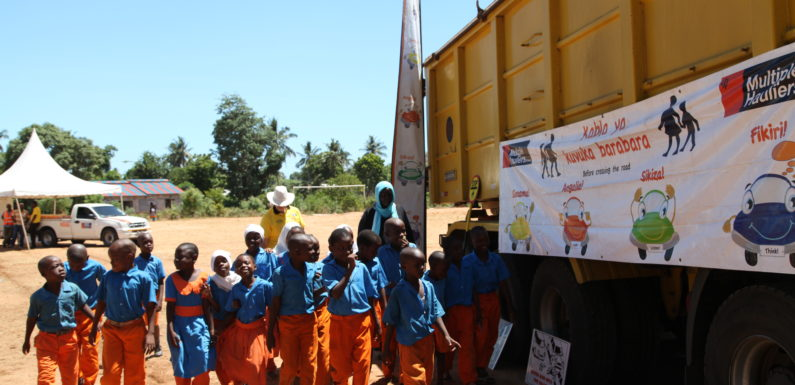 Road safety campaign for children rolled out