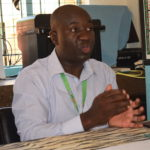 Dr Chris Opati, a clinical officer at Akala Health Centre. PHOTO: MUTHONI NJOROGE
