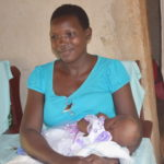 Lilian Achieng in her home. PHOTO: MUTHONI NJOROGE.