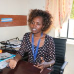 Immaculate Otieno, project officer at KMET. PHOTO: LILIAN MUTHONI