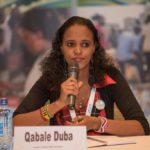 Qabale Duba, founder of Qabale Duba Foundation