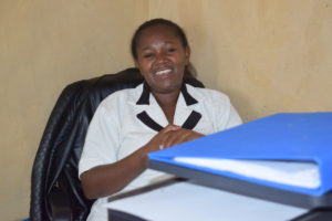 Jennifer Waema, the project coordinator of Mavindini Help A Child Africa office. PHOTO: Lilian Muthoni
