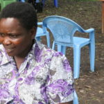 Annastacia Adongo Ouma, a community health volunteer at Ndadorera B community unit