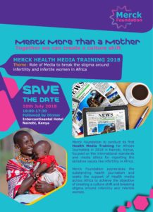"Merck Foundation announces the winners of ""Merck More Than a Mother"" Media Recognition Awards 2017"
