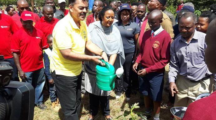 Kepsa launches tree planting initiative in Mangu High School