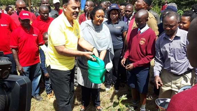 Kepsa launches tree planting initiative in Mangu High School