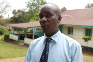 Hezekiah Abuga Ondiko-head of health commodities and technology division in Kitui County