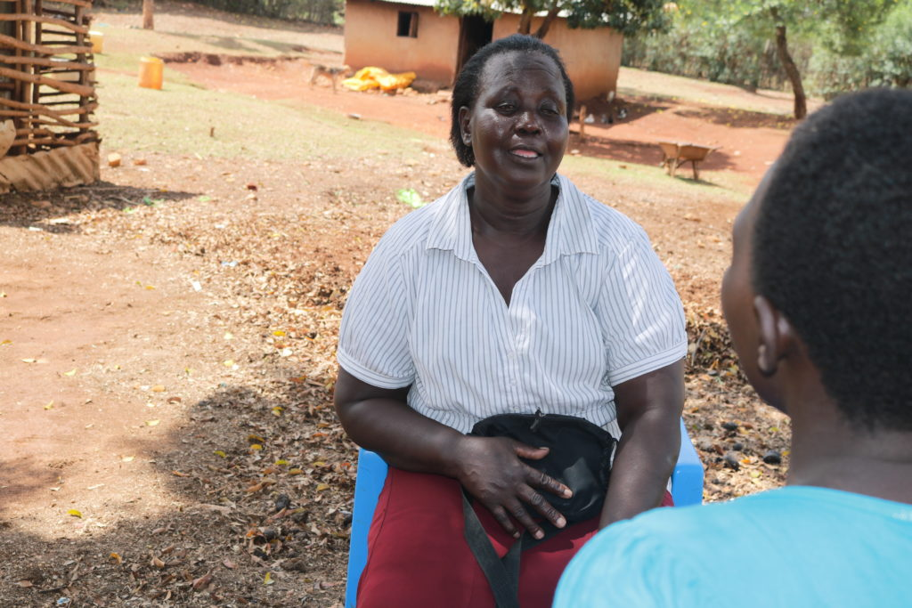 A community health worker in Bondo, Kisumu County. PHOTO: LILIAN KAIVILU