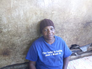 Winny Manga, founder, Holy Trinity Day care in Makina, Kibera