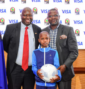 Visa unveils Kenyan children that will be part of Total AFCON 2019 Player Escort Programme in Egypt