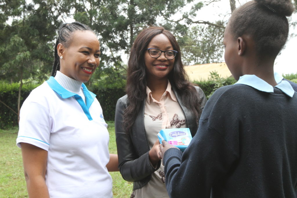 Confidence sanitary towel manufacturer partners with clean start to emphasise education for the juvenile child
