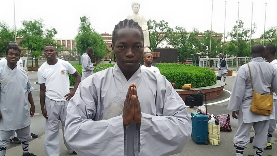 Fizouné Richard: Using martial arts to empower youth in Chad