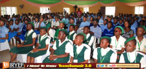 Some of the beneficiaries of Realities youth Empowerment Foundation (IRYEF)
