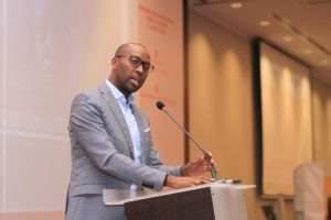 Amref Health Africa GlobalCEO and Co-Chair of UHC 2030 steering committee, Dr. Githinji Gitahi