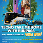 Join #TECNOTakesMeHome to win a car this Christmas