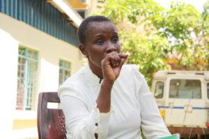 Jessica Koli, the reproductive health coordinator in Kakamega. PHOTO: IMPACTHUB MEDIA