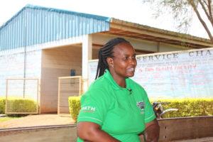 Veronica Musieka, reproductive health coordinator in Vihiga county. PHOTO: IMPACTHUB MEDIA