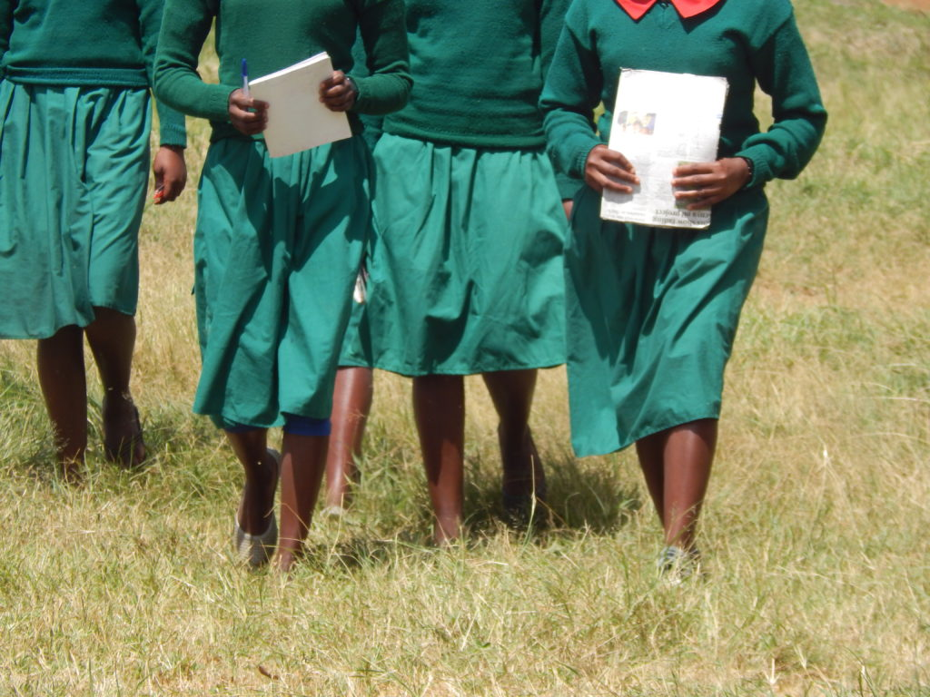 A section of students from Logorate Primary School.