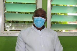 Dickson Miruka, a fistula nurse at the Narok County Referral Hospital