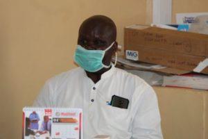 Dr Otulo Carrey Francis, a fistula surgeon at Narok County Referral Hospital
