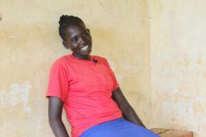Gladys Chebiatich a resident of Asar village in West Pokot County.PHOTO: Ismael Otieno