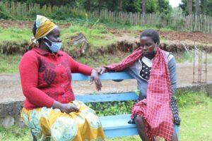 Gladys Kipserem, a Community Based Distributor for family planning commodities in Kapsikoria, Elgeyo Marakwet County. PHOTO: Ismael Otieno
