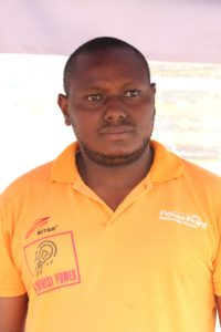 Johnston Mutua Water and Sanitation officer at SHOFCO