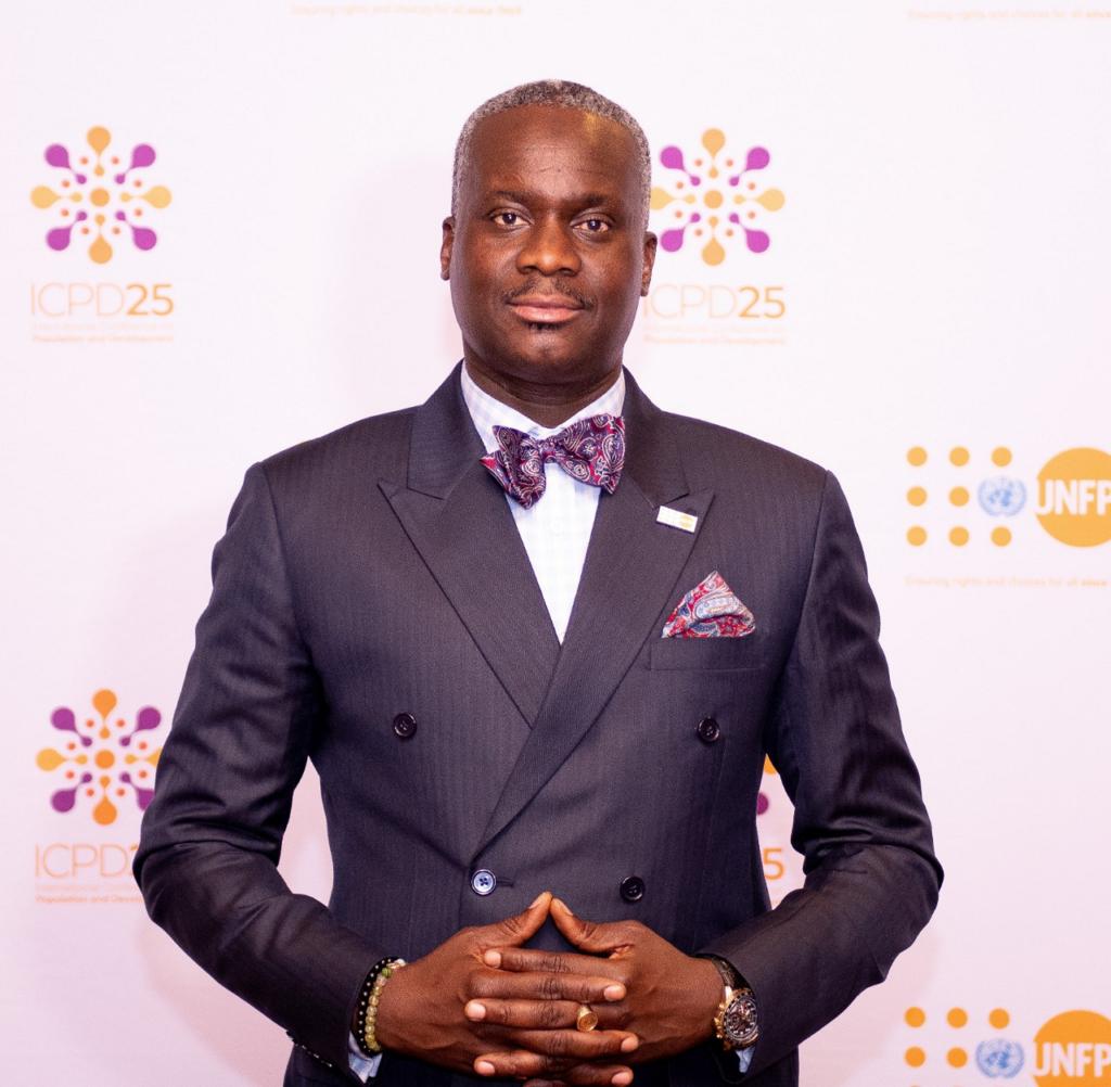 Dr Ademola Olajide, UNFPA Representative for Kenya