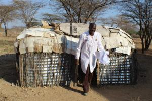 Francis Lenkupae Nurse in Charge at Lerata Dispensary in Samburu East Sub county-PHOTO: LILIAN KAIVILU