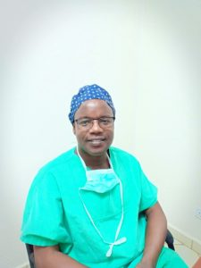 Dr Hilary Mabeya, the lead surgeon at Gynocare Womens & Fistula Hospital