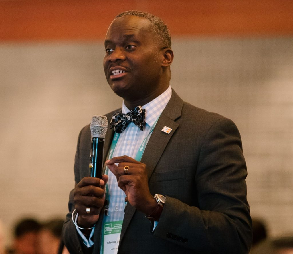UNFPA Kenya Country Representative Dr Ademola Olajide