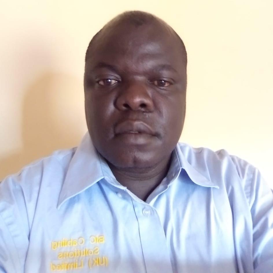 Joel Ambasa, a midwife at Kenyata National Hospital