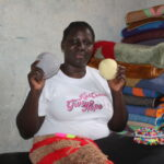 Weaving mats to sustain cancer patients