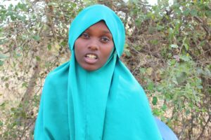 Halima Alinoor Hussein, is a Form Two student at Algani Girls Secondary School in Isiolo County. PHOTO/IMPACTHUB MEDIA