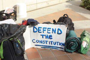 Political protest in Miami (2010). PHOTO: Ng'ang'a Wahu-Mũchiri