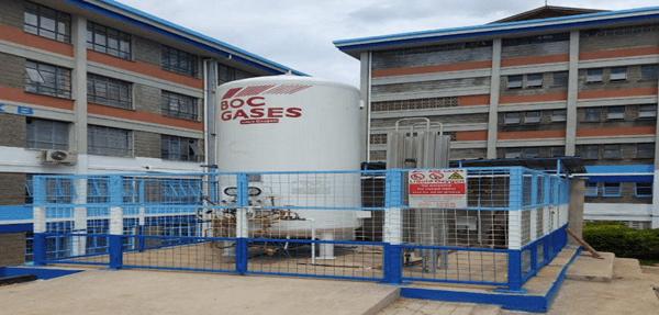 New oxygen plant at Othaya Leve 6 Hospital
