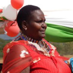 Beatrice Kosiom Assistant Chief, Nanjile Location in Kajiado County
