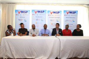 Panelists at the Multi Stakeholder Partnership Kenya (MSP-K) annual stakeholder forum held in Nairobi.