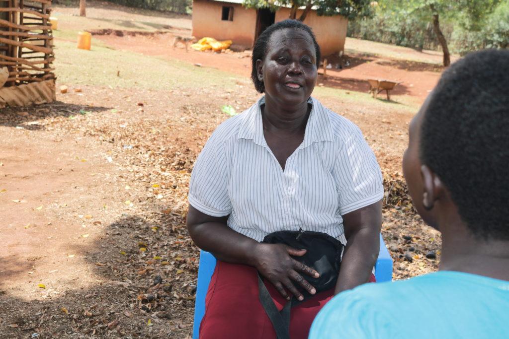 A community health worker in Bondo, Kisumu County. PHOTO: LILIAN KAIVILU