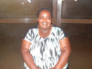 Catherine Mwikali , leader of Strong Future Girls in Majengo, Nairobi- PHOTO-LILIAN KAIVILU