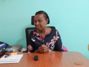 Dr Dorcas Musera Gakunju. Her father Mr Bernard Nyaga was treated at Yashoda Hospital and discharged in August 2019.