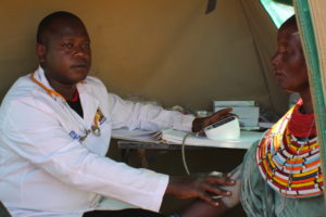 Sylvester Sang Murei, a clinician. PHOTO: IMPACTHUB MEDIA