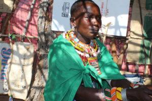 Misawa Learat a beneficiary of the camel outreach in Samburu County. PHOTO: IMPACTHUB MEDIA