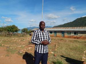 James Lokuk, headteacher Morpus Primary school, West Pokot County