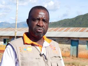 John Wafula, humanitarian program specialist at United Nations Population Fund