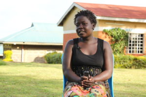 Magdalene Ingaji,a beneficiary of OparanyaCare programme. PHOTO: IMPACTHUB MEDIA