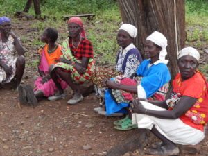A group of reformed circumcisers in Tiaty, Baringo County.