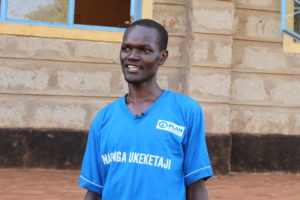 Martin Muriithi, a change Agent in Tharaka Nithi County is leading other young professionals in the fight against FGM
