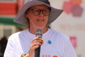Monika Sandvik- Nylund from UNICEF Kenya Country Office